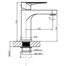 Torneira de lavatório Clio - GME