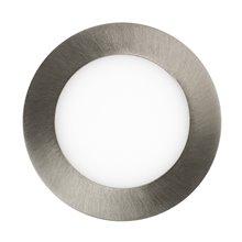 Placa LED circular ultra fina Ø12x2cm 6W...