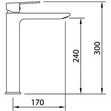 Torneira alta de lavatório Agora Xtreme - CLEVER