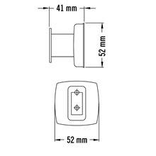 Cabide aço brilhante Medisteel - MEDICLINICS