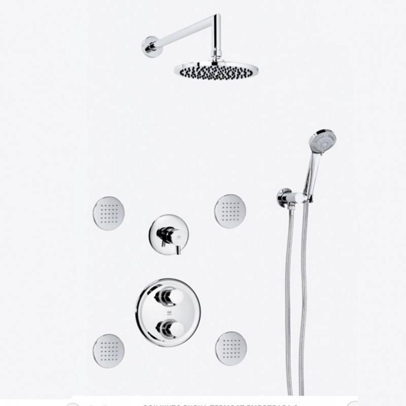Conjunto de duche termostático para encastrar DELTA - Griferías MR