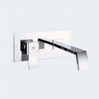 Torneira monocomando para lavatório mural INCA - Griferías MR