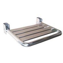 Assento rebatível brilhante aço inoxidável - MEDICLINICS