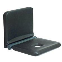 Assento branco/preto Tubocolor - MEDICLINICS
