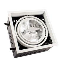 Foco LED Cree-Cob direcionável 17x17x10cm 15W - MoonLed