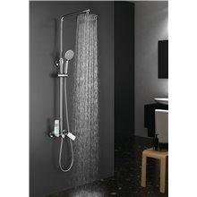 Conjunto de duche monocomando Dual Round Llavisan