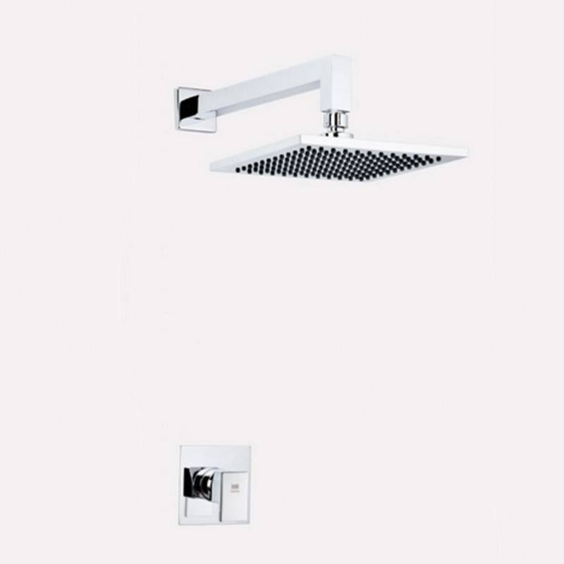 Conjunto de duche para parede PETRA - Griferías MR