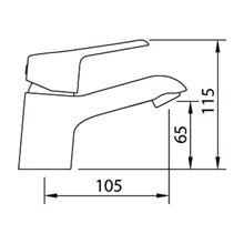 Torneira de lavatório S12 Elegance - CLEVER
