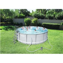 Piscina redonda 427x122cm POWER STEEL Bestway