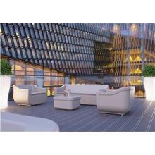 Sofá de exterior verde CLUB - RESOL