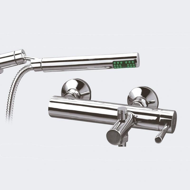 Torneira monocomando para banheira com chuveiro de mão RODA - Griferías MR