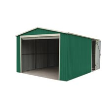 Garagem metálica 20,09m² Essex verde - GARDIUN