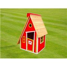 Casinha infantil 1,24m² Peter vermelha Outdoor...