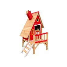 Casinha infantil 2,82m² Alicia vermelha Outdoor...
