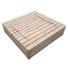 Caixa de areia infantil 118x118x22cm Antz...
