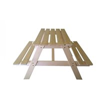 Mesa de picnic infantil 90x70x50cm Pumba...