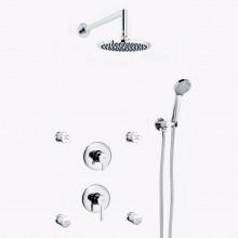 Conjunto de duche 4 jatos DELTA 13 - Griferías MR