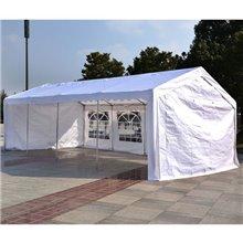 Tenda pavilhão 8x4x2,8m branca Outsunny