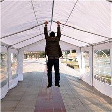 Tenda pavilhão 6x4x2,8m branca Outsunny