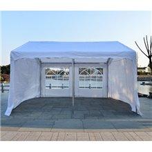 Tenda pavilhão 4x4x2,8m branca Outsunny