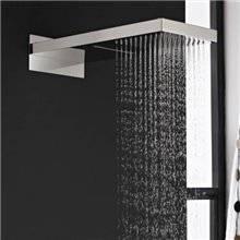 Chuveiro pulverizador aço inoxidável chuva - GME