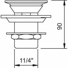 Válvula drenagem ORION - CLEVER