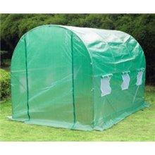 Estufa de cultivo verde 350x200x200 Outsunny