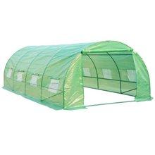 Estufa verde 600x300x200- HOMCOM