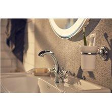 Torneira de lavatório bicomando Carmen Roca