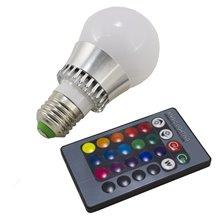 Lâmpada LED com luz RGB de 5W E27 - MasterLed