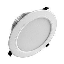Foco LED Downlight 15W GRANDE ANGULAR branco - MasterLed