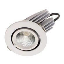 Projetor de teto LED redondo 12W - MasterLed
