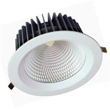 Projetor de teto LED redondo 60W BRANCO - MasterLed