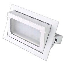 Projetor de teto LED quadrado 30W BRANCO - MasterLed