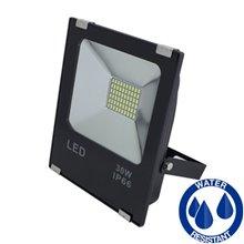 Projetor LED quadrado 30W PLANO - MasterLed