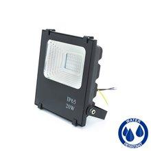 Projetor LED quadrado 20W PLANO - MasterLed