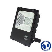Projetor LED quadrado 50W PLANO - MasterLed