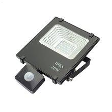 Projetor LED quadrado 20W com sensor - MasterLed