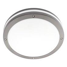 Plafon LED redondo IP65 cinzento - MasterLed