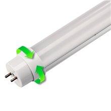 Tubo LED T8 de 9W alumínio - MasterLed