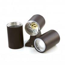 Aplique preto alumínio 2xGU10 - MasterLed