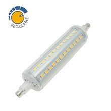 Lâmpada LED R7S 10W regulável - MasterLed