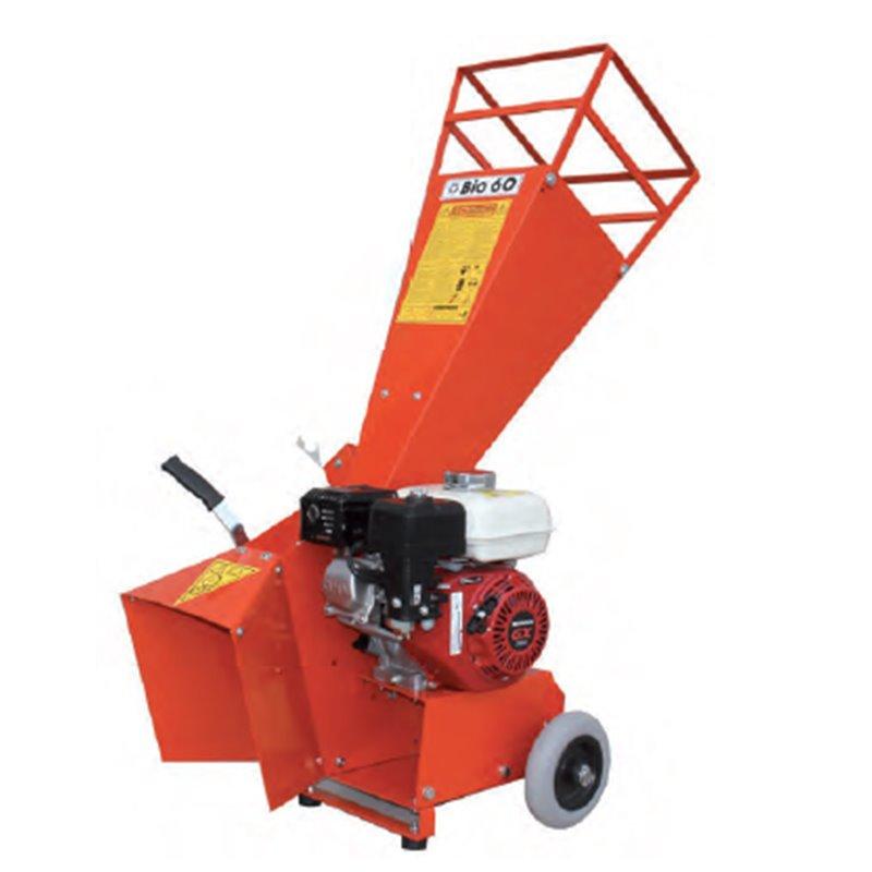 Triturador de ramos BIO60 motor elétrico - MOTOGARDEN