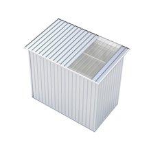 Abrigo metálico Rutland Silver 3,93m² - GARDIUN