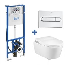 Conjunto Smart Toilet In-Wash suspenso Inspira - ROCA