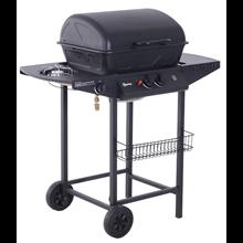 Barbecue de gás com rodas - Outsunny