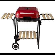 Barbecue de carvão com rodas Outsunny