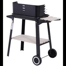 Barbecue Grill com grelhas ajustáveis Outsunny