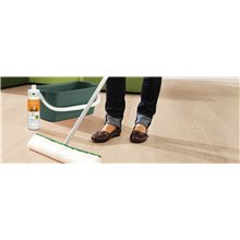 Produto de limpeza Parquet CLEAN & GREEN Aqua Oil Branco HARO