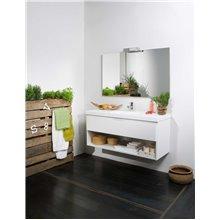 Móvel Life 1 gaveta e 1 estante com lavatório B10